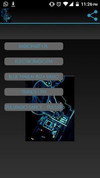 Radios de música Electrónica poster
