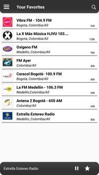 Colombia Radio screenshot 5