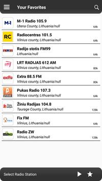 Radio Lithuania - World Radio Fm Free Online screenshot 3