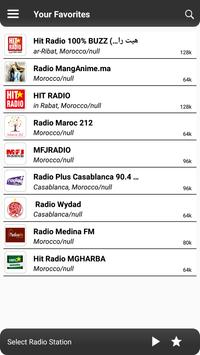 Morocco Radio screenshot 3