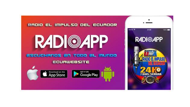 Radio El Impulso del Ecuador screenshot 1