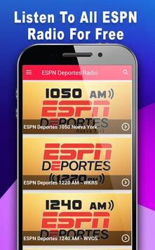Deportes Radio - Radio For ESPN Deportes screenshot 10
