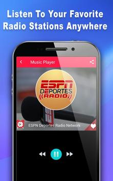 Deportes Radio - Radio For ESPN Deportes screenshot 11