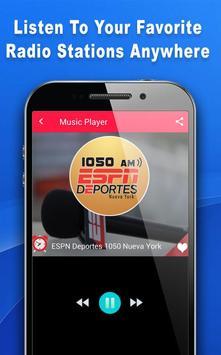 Deportes Radio - Radio For ESPN Deportes screenshot 2