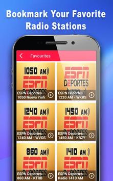 Deportes Radio - Radio For ESPN Deportes screenshot 8