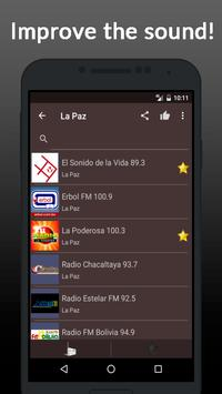 Radio Online Bolivia apk screenshot