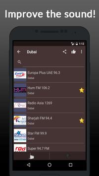 Radio Online United Arab Emirates screenshot 1
