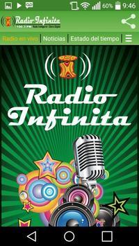 Radio Infinita Goya poster