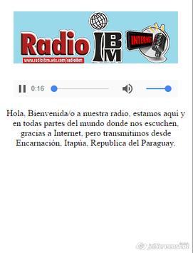 RADIO IBM screenshot 1