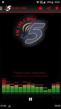 Radio La Cinco poster