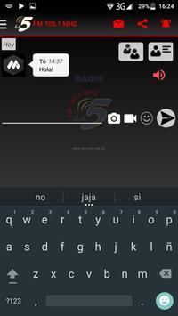 Radio La Cinco apk screenshot