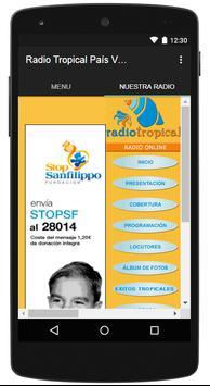 Radio Tropical País Vasco screenshot 2