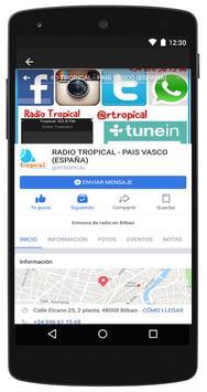 Radio Tropical País Vasco screenshot 3