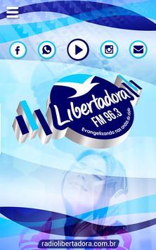Rádio Libertadora FM 96.3 poster