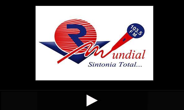 Radio Mundial 103.5 FM apk screenshot
