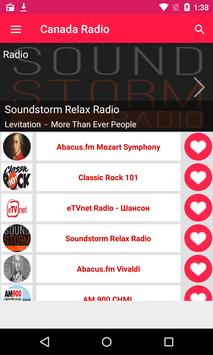 CANADA RADIO apk screenshot