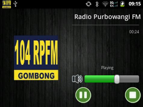Radio Purbowangi FM screenshot 1