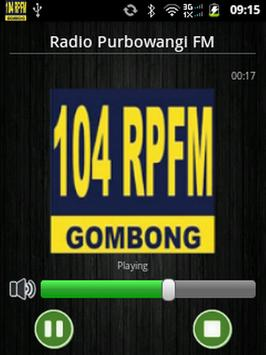 Radio Purbowangi FM screenshot 2
