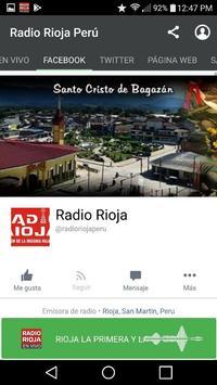 Radio Rioja Perú screenshot 2