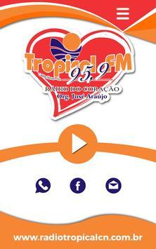 Rádio Tropical 95,9 FM poster