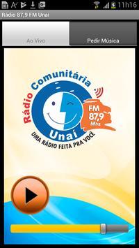 Rádio 87,9 FM Mhz Unaí-MG poster
