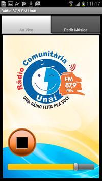 Rádio 87,9 FM Mhz Unaí-MG screenshot 1