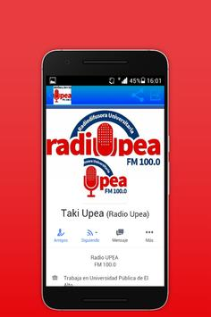 RADIO UPEA apk screenshot