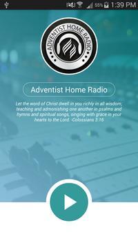 Adventist Home Radio poster