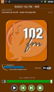 RADIO 102 FM poster
