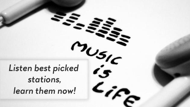 Music Radio Stations Guide for Pandora Cartaz