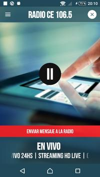 Radio CE 106.5 screenshot 1