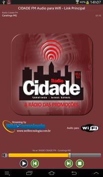 RADIO CIDADE FM - CARATINGA MG poster
