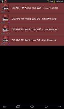 RADIO CIDADE FM - CARATINGA MG screenshot 2
