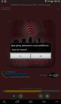 RADIO CIDADE FM - CARATINGA MG screenshot 6
