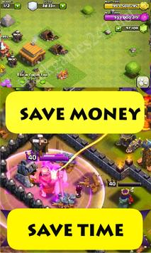 gems on coc- Clash of clans apk screenshot