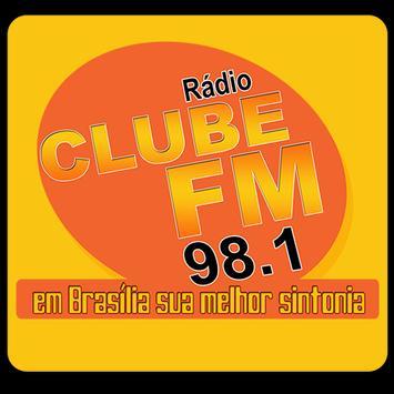 Rádio Clube FM 98.1 Ceilândia poster