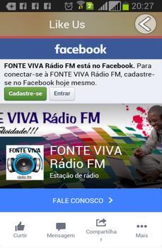 Rádio Fonte Viva FM poster