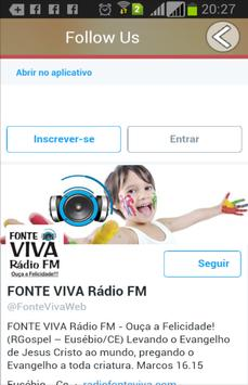 Rádio Fonte Viva FM apk screenshot