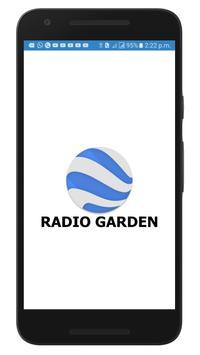 RADIO GARDEN | 1000+ LIVE RADIO CHANNELS | ONE DOT poster