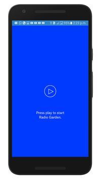 RADIO GARDEN | 1000+ LIVE RADIO CHANNELS | ONE DOT screenshot 1