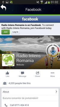 Radio Intens Romania screenshot 1