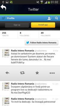Radio Intens Romania screenshot 2