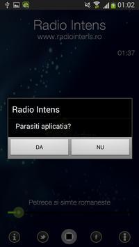 Radio Intens Romania screenshot 4