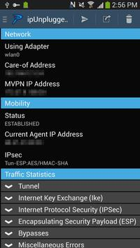 ipUnplugged Mobile VPN apk screenshot