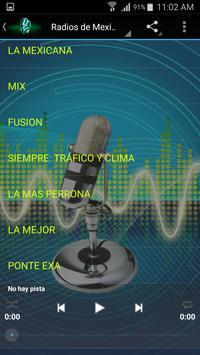 Radios de México Online apk screenshot