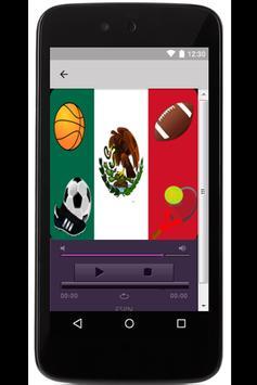 Radios deportivas de México poster