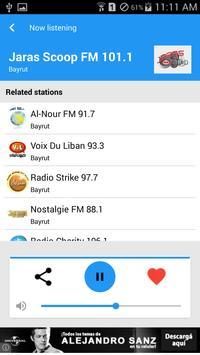 Lebanon Radio screenshot 19