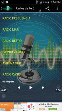 Radios FM de Perú Online apk screenshot