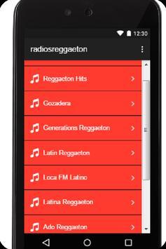 Radios de reggaeton gratis poster
