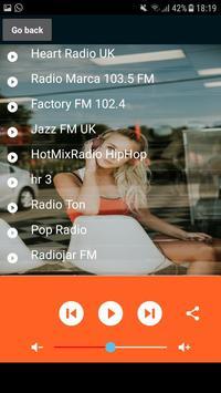 Radio Swiss Pop FM App CH écouter gratuit en ligne screenshot 16